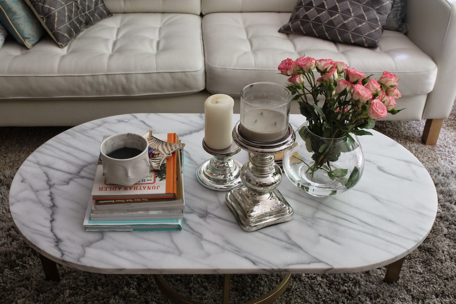 How to style your coffee table: Coffee table two ways, part 1